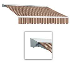 Hand Crank Retractable Awnings Retractable Awnings Awnings The Home Depot