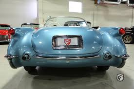 vintage corvette blue 1954 chevrolet corvette fusion luxury motors