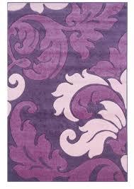 Modern Purple Rug Purple Shag Area Rug Deboto Home Design Contemporary Purple