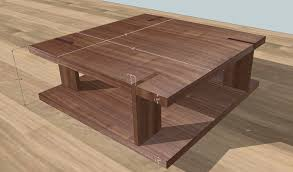 Wooden Table Top View Png Through Tenon Modern Tables Woodweb U0027s Furniture Making Forum