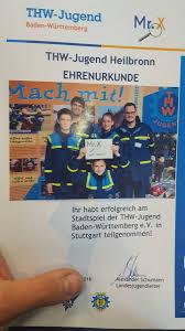 Thw Baden Baden Mister X 2016 In Stuttgart U2013 Thw Heilbronn