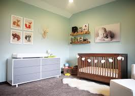 Modern Nursery Decor River U0027s Rustic Modern Nursery Project Nursery