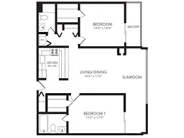 The Lenox Floor Plan Apartments Buckhead 2460 Peachtree Apartments