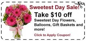 flower coupons sweetest day gift ideas for the online flower expert from