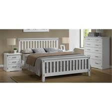 White Tallboy Bedroom Unit Eliza Queen Tallboy Suite Hardwood White Queen Bed Dixie