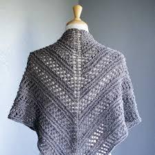 kōsaten knit openwork shawl argyle sheep