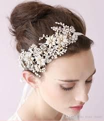 bridal headpieces 2015 vintage bridal headpiece headband bridal hair flower