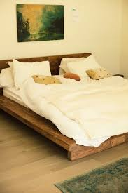 Modern Wooden Bed Frames Uk Best 25 Wooden Beds Ideas On Pinterest Wooden Bed Frame Diy
