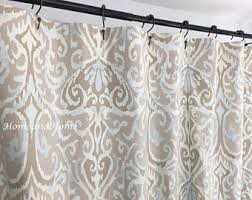 84 Inch Long Shower Curtains 84 Inch Curtains Etsy