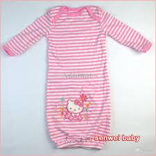 wholesale newborn baby pajamas sleepwear nightgown