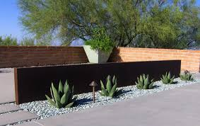 Mid Century Modern Landscaping by Metalwork U2014 Realm