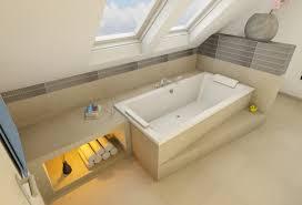 badezimmer mit dachschräge badewanne unter der schräge quer bad bath loft