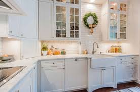 white kitchen cabinet with glass doors five types of glass kitchen cabinets and their secrets