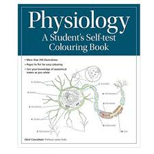 physiology a student u0027s self test colouring book medical artist