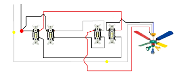 wiring diagram 3 way switch with 2 lights electrical light blurts me