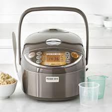 stoneware rice cooker zojirushi induction heating pressure rice cooker warmer