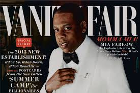 Vanity Fair Magazine Change Of Address Jay Z Dealing Was My Job Experience Page Six
