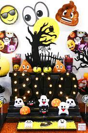 emoji halloween party ideas soiree event design