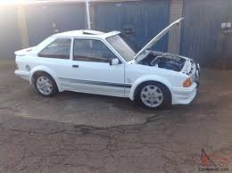 1985 Ford F100 Ford Escort Rs Turbo White