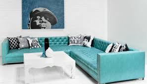 Navy Tufted Sofa by Awesome White Tufted Leather Sectional Gallery House Design