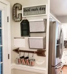 kitchen message center ideas kid s chore boards w backpack hooks garage entry way pantry