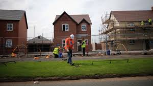 house building record slump for housebuilding sector at start of 2018