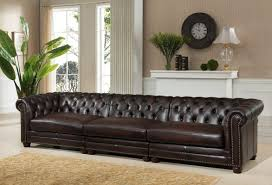 Classic Chesterfield Sofa by Amax Bakersfield Leather Chesterfield Sofa Wayfair