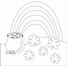 rainbow pot of gold coloring pages st patrick u0027s day coloring pages and activities for kids free
