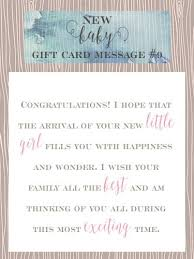 10 sweet baby gift card messages pearls