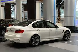 bmw dealership interior f80 bmw m3 in alpine white at abu dhabi motors