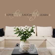 love live laugh love live laugh life learn vinyl lettering home decor decal wall