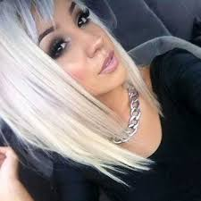 lob hair with side fringe angled bobs with bangs short hairstyles 2016 2017 most