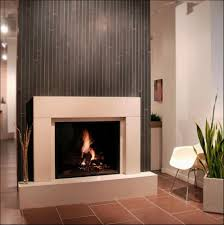 fireplace porcelain tiles flooring plus ornamental plants put in
