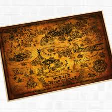 video game map promotion shop for promotional video game map on