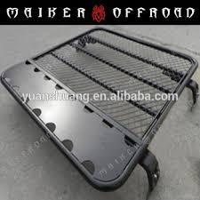 porta pacchi auto metallo ferro 4x4 fai da te rimovibile gabbia cross bar auto