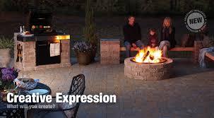 Rumblestone Fire Pit Insert by Rumblestone Outdoor Building Blocks
