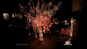 why a san francisco christmas tree is decorated with wishes nbc news