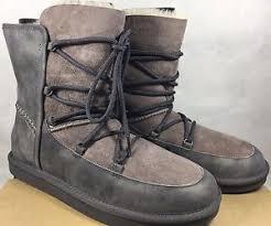 womens ugg lodge boot ugg 1013941 lodge boots grey purple nightfall water resistant