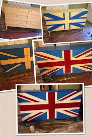 british flag furniture painting a union jackbritish flag on a