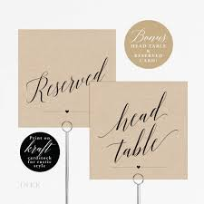 wedding table numbers template rustic wedding table numbers printable table number template