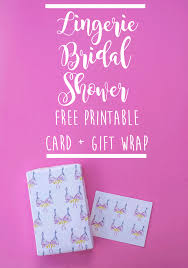 bridal shower wrapping paper free printable bridal shower card gift wrap lacee