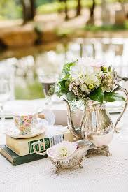 vintage centerpieces 35 vintage teapot and teacup wedding ideas deer pearl flowers