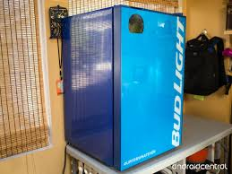 bud light for sale hands on with the bud e fridge android central