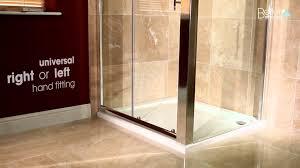 coram shower door spares aquafloe sliding shower door u0026 panel youtube