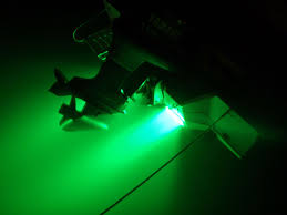 underwater boat light dg dl underwater dock lighting green