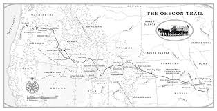 map of oregon mo the oregon trail by rinker buck