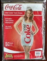 Coca Cola Halloween Costume Diet Coke Tank Dress Soda Bottle Coca Cola Halloween