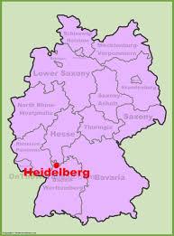 Printable Map Of Germany by Heidelberg Maps Germany Maps Of Heidelberg