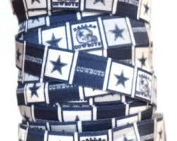 dallas cowboy ribbon dallas cowboys etsy studio