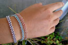 braided bracelet with beads images Beaded braid bracelet dianne faw jpg